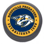 Nashville Predators Established 1998 Commeorative NHL Puck